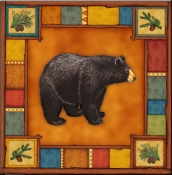 DM-Wilderness Bear - Accent Tile